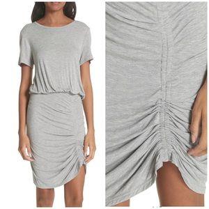 Veronica Beard Yari Blouson T Shirt Stretch Dress